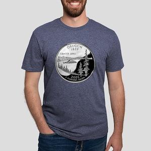 Oregon Mens Tri-blend T-Shirt