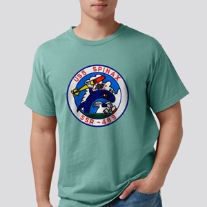 uss spinax ssr patch tra Mens Comfort Colors Shirt
