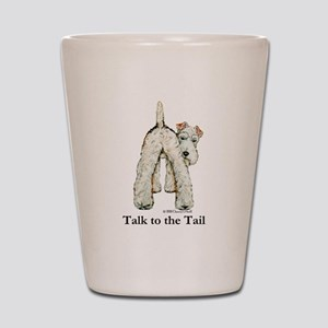 Wire Fox Terrier Tail WFT Shot Glass