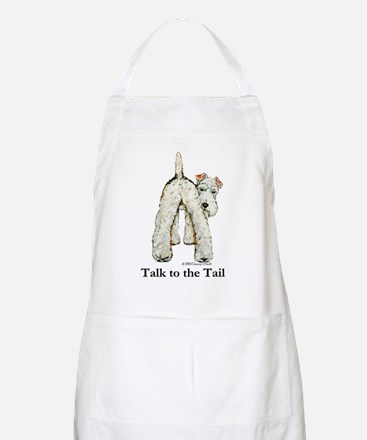 Wire Fox Terrier Tail WFT Apron
