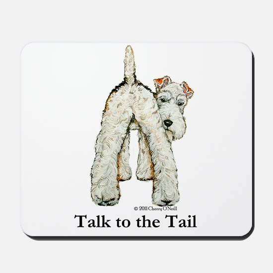 Wire Fox Terrier Tail WFT Mousepad