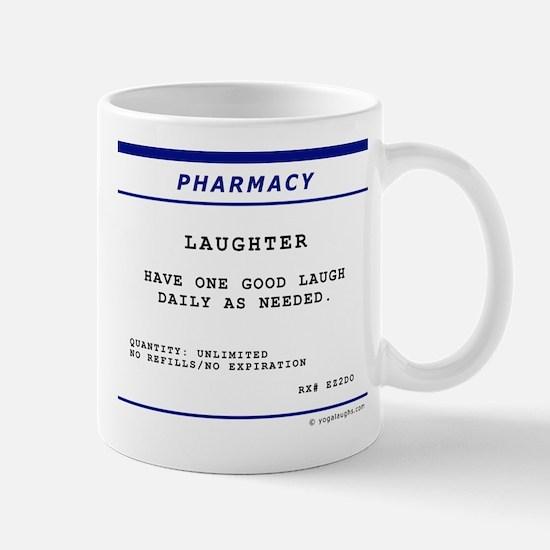 Laughtees Laughter Prescription Label Mug
