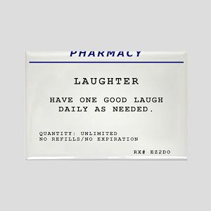 Laughtees Laughter Prescription Label Rectangle Ma