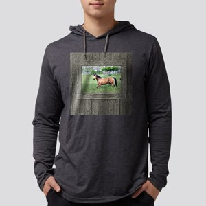 Old window horse 2 Mens Hooded Shirt