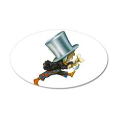 The Mad Hatter Wall Decal