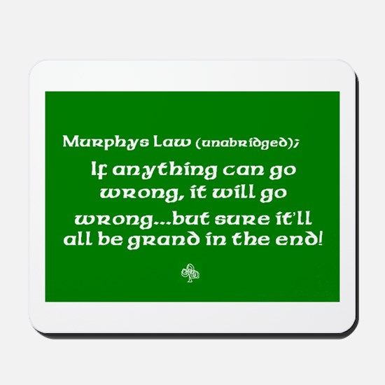 murphyslaw Mousepad