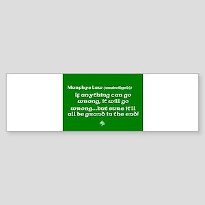 murphyslaw Sticker (Bumper)