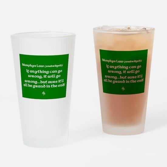 murphyslaw Drinking Glass