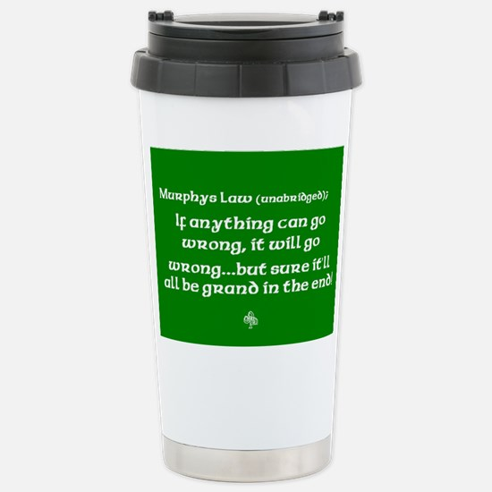 murphyslaw Stainless Steel Travel Mug