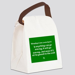 murphyslaw Canvas Lunch Bag