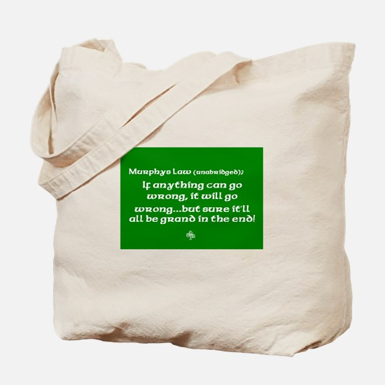 murphyslaw Tote Bag