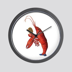 The Lobster-Quadrille Wall Clock
