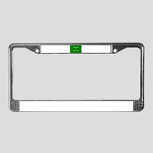 keepcalmcafe License Plate Frame