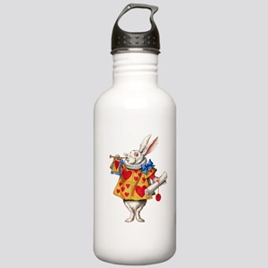 Alice's White Rabbit Stainless Water Bottle 1.0L