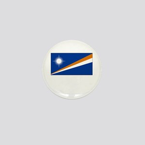 The Marshall Islands Flag Picture Mini Button