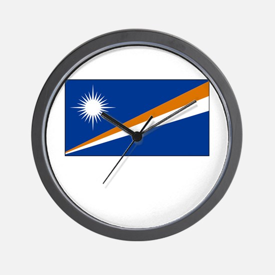 The Marshall Islands Flag Picture Wall Clock