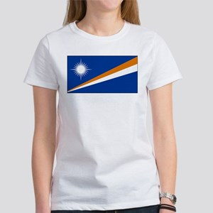 The Marshall Islands Flag Picture Women's T-Shirt
