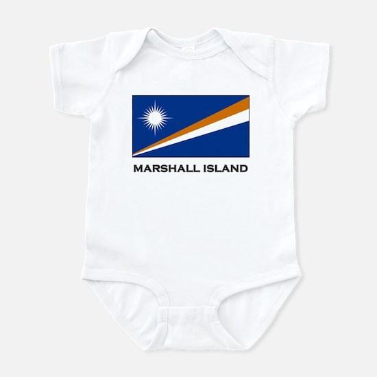 The Marshall Islands Flag Stuff Infant Bodysuit
