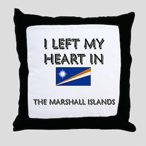 I Left My Heart In The Marshall Islands Throw Pill