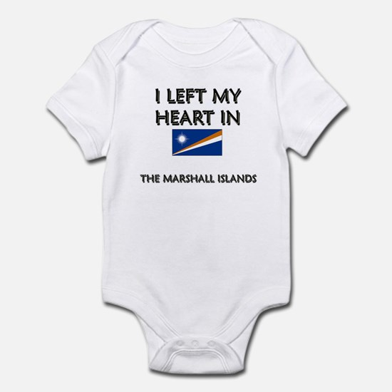 I Left My Heart In The Marshall Islands Infant Bod