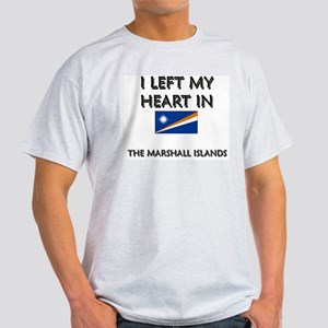 I Left My Heart In The Marshall Islands Ash Grey T