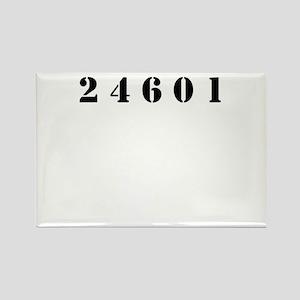 Prisoner 24601 Rectangle Magnet
