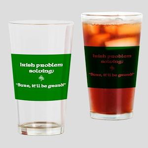 Irishproblemsolvingcafe Drinking Glass