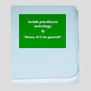 Irishproblemsolvingcafe baby blanket