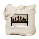 Chess Family Portrait Tote Bag