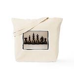 Chess Family Portrait Tote Bag