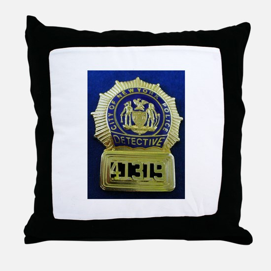 Detective Kate Beckett Throw Pillow