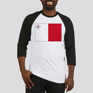 Malta Flag Picture Baseball Jersey