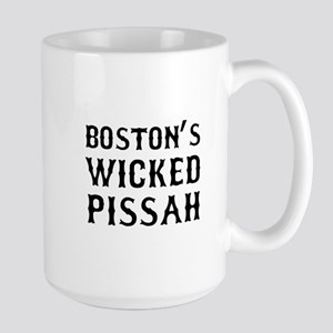 Boston Wicked Pissah Large Mug