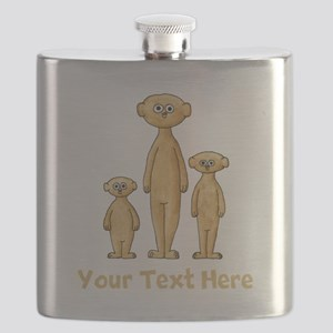 Meerkats. Custom Text. Flask