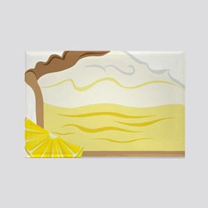 Lemon Pie Rectangle Magnet