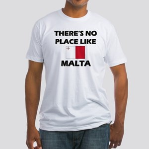 There Is No Place Like Malta Fitted T-Shirt