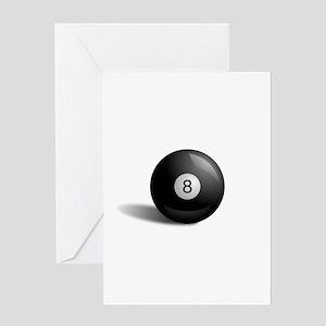 Eight Ball Pool Greeting Card