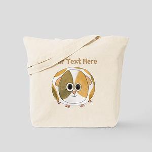 Guinea Pig. Custom Text. Tote Bag