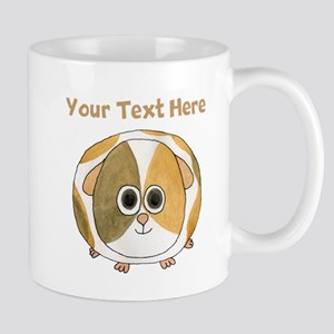 Guinea Pig. Custom Text. Mug