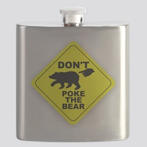 Dont Poke The Bear Flask
