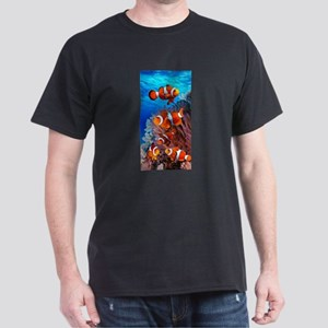 CLOWN NEMO CORAL REEF Dark T-Shirt