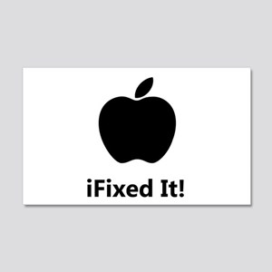 iFixed It Apple 20x12 Wall Decal