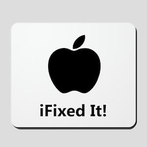iFixed It Apple Mousepad