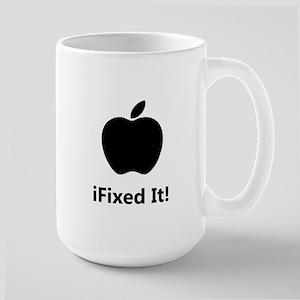 iFixed It Apple Large Mug