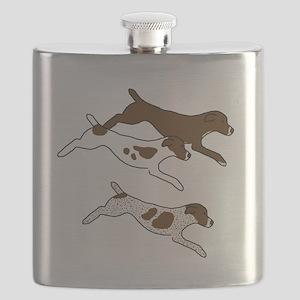 Three GSPs Flask