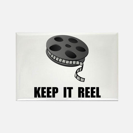 Keep Movie Reel Rectangle Magnet (10 pack)