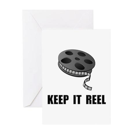 Keep Movie Reel Greeting Card
