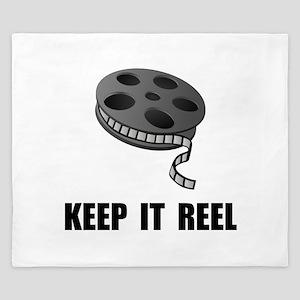 Keep Movie Reel King Duvet