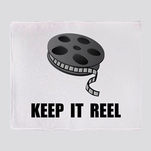 Keep Movie Reel Throw Blanket
