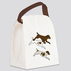 Three GSPs Canvas Lunch Bag